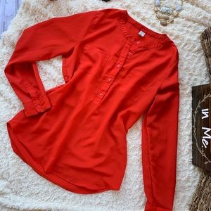 Apple Red OLD NAVY Top